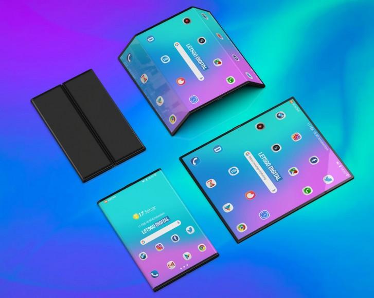 Xiaomi Des Rendus Conceptuels Pour Le T 233 L 233 Phone Pliable