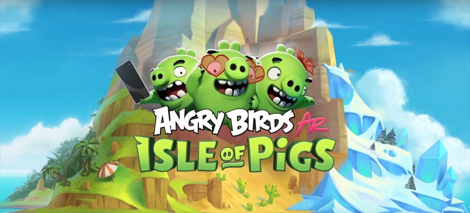 Angry Birds passe à la réalité augmentée, mais uniquement sur iOS