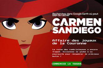 Carmen Sandiego Google Earth