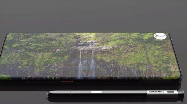 Concept Galaxy Note 10