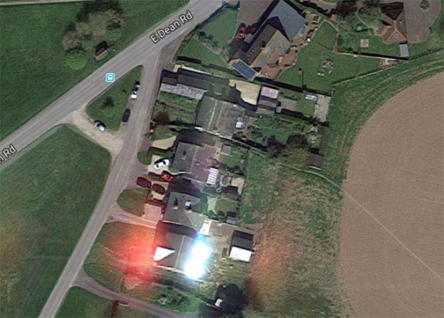 Google Maps maison britannique 1