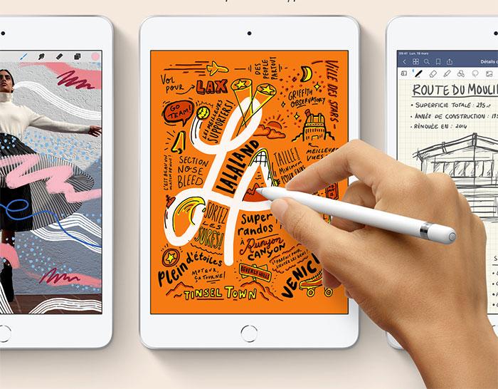 L'iPad Mini 5 et l'iPad Air 2019 se sont fait démonter