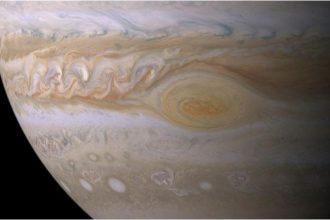 La tempête de Jupiter est en train de se calmer