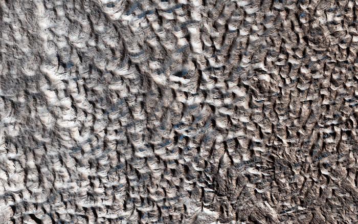 """Mars et le mystère du """"terrain cérébral"""""""
