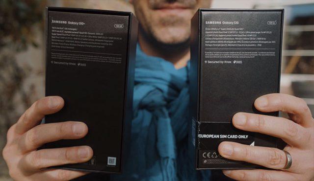 Prise en main des Galaxy S10 et Galaxy S10+ : image 4