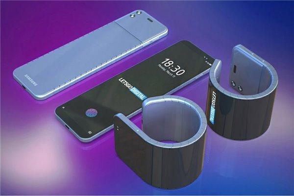 Samsung aurait imaginé un smartphone capable de s'enrouler autour du poignet