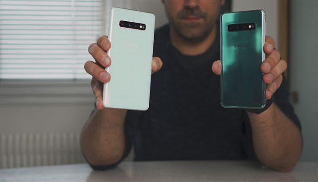 Test des Galaxy S10 et Galaxy S10+ : image 1