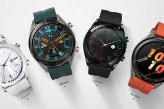 Huawei Watch GT Active et Watch GT Elegant