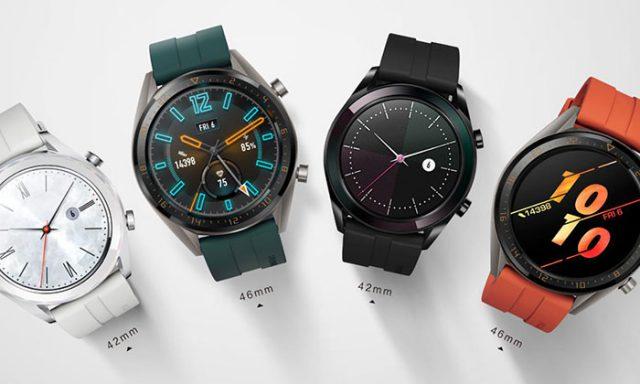 Huawei Watch GT Active et Watch GT Elegant