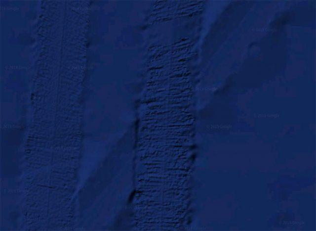 Google Maps Fonds marins