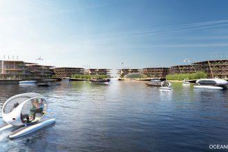 L'ONU soutient un plan visant à créer une ville flottante capable de résister aux éléments