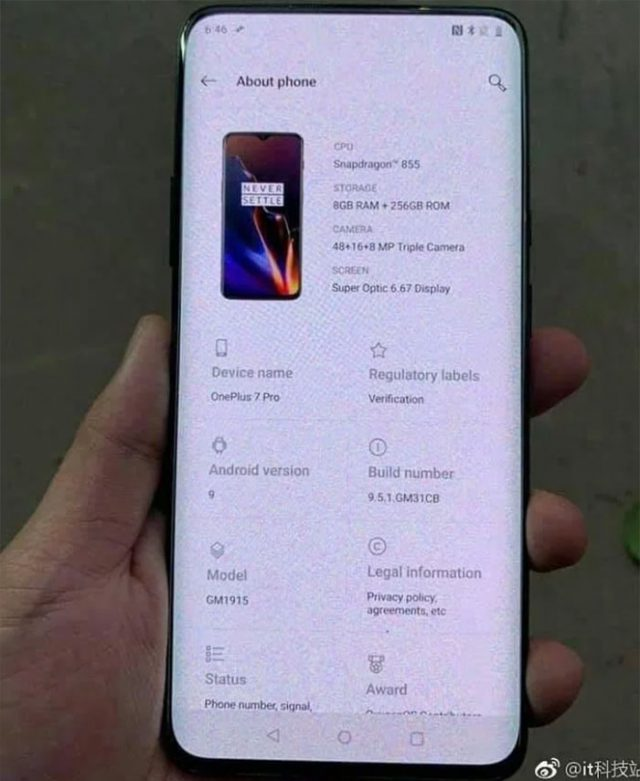 OnePlus 7 Pro : image 3