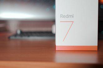 Prise en main du Redmi 7 : image 1