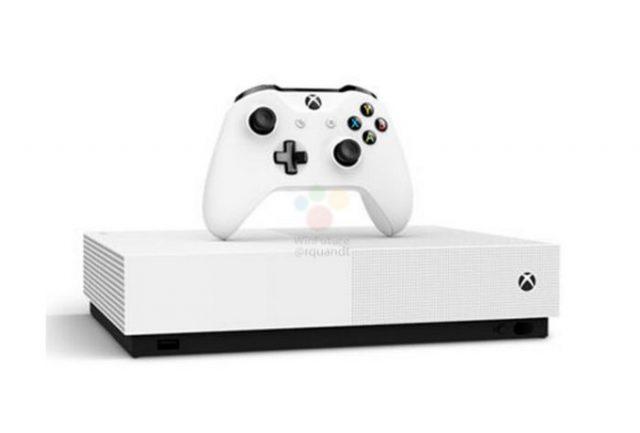 "Xbox One S ""All Digital Edition"""