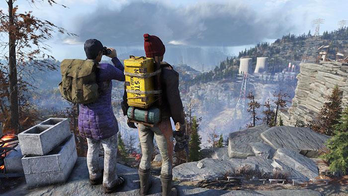 Fallout 76 va bientôt proposer des sacs à dos pour nous permettre de porter plus de poids