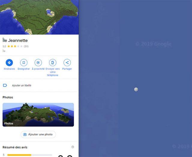 Google Maps Île 2