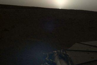 Lever Soleil Mars