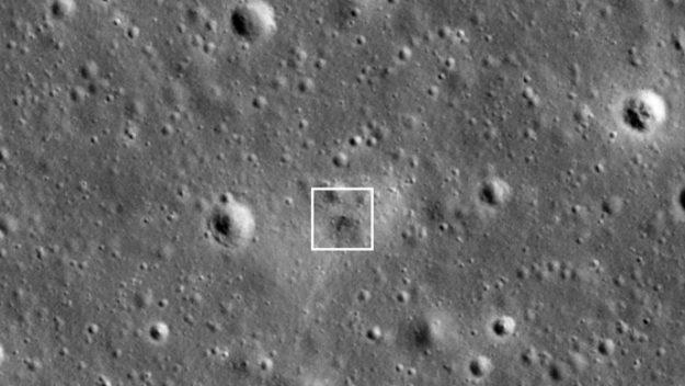 La NASA a trouvé l'endroit où s'est écrasé Beresheet