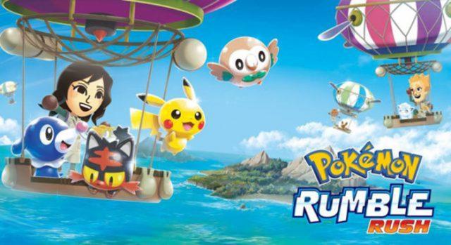 Pokémon Rumble Rush : image 1