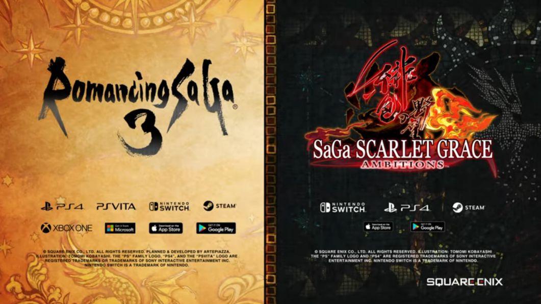 Romancing SaGa 3 HD et SaGa Scarlet Grace Ambitions datés en Occident