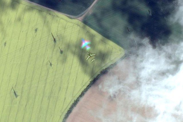 Avion coloré Google Maps