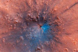 Cratère Mars