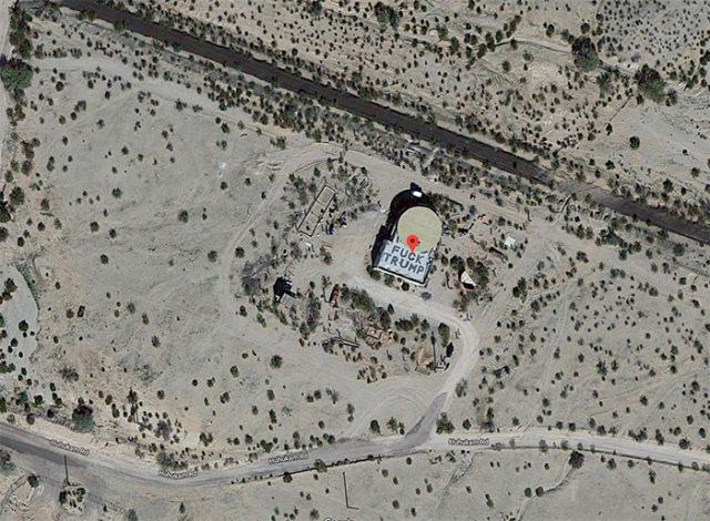 Fuck Trump Google Maps