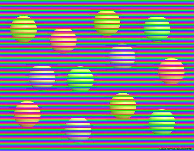 Illusion optique boule
