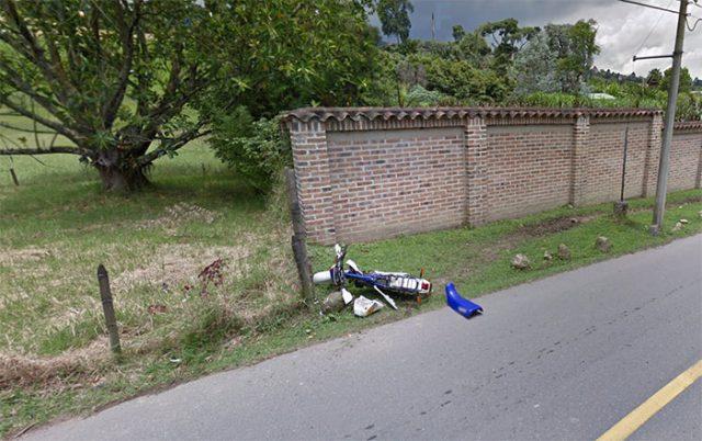Cyclomoteur Google Maps