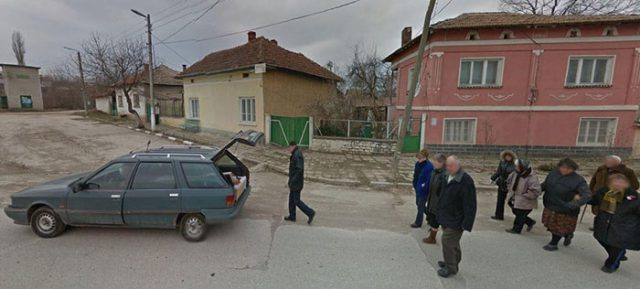 Google Street View : scène 1