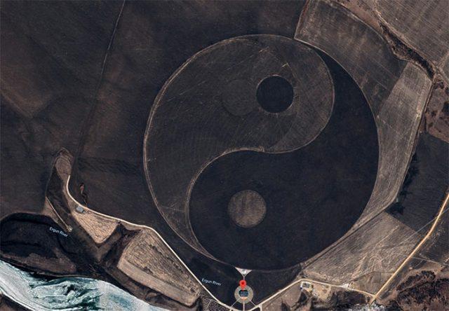 Yin Yang Google Maps