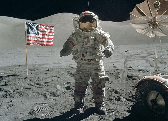 Apollo 11 : les premiers pas de l'homme... avec ray tracing