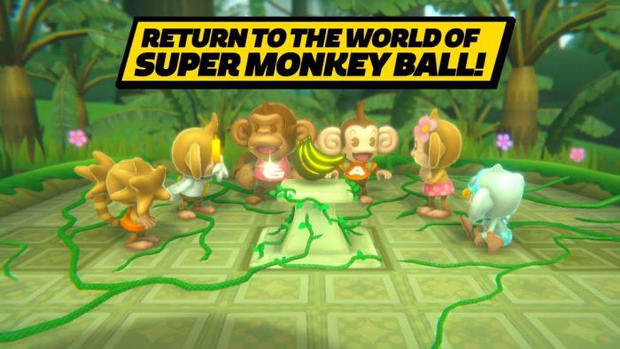 Un remake de Super Monkey Ball Banana Blitz prévu sur Switch en octobre prochain