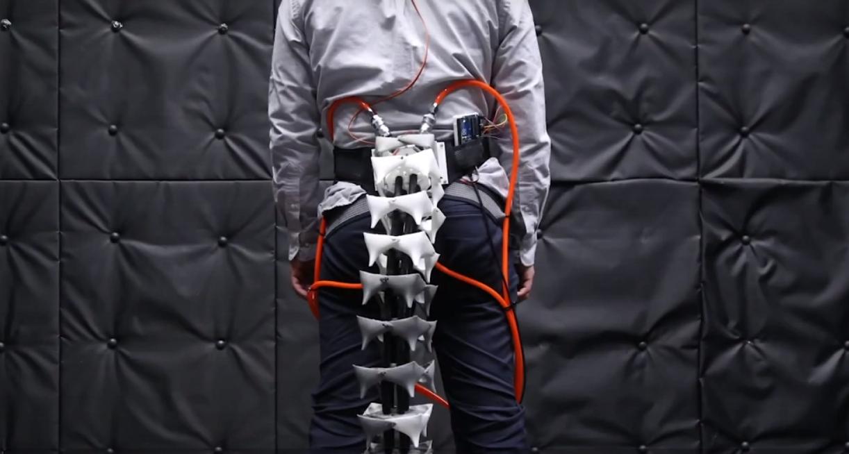 Au Japon, des chercheurs ont construit une queue robotique