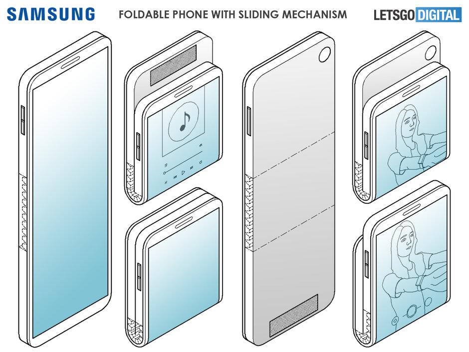 Samsung : un brevet pour le Galaxy Fold 2 ?