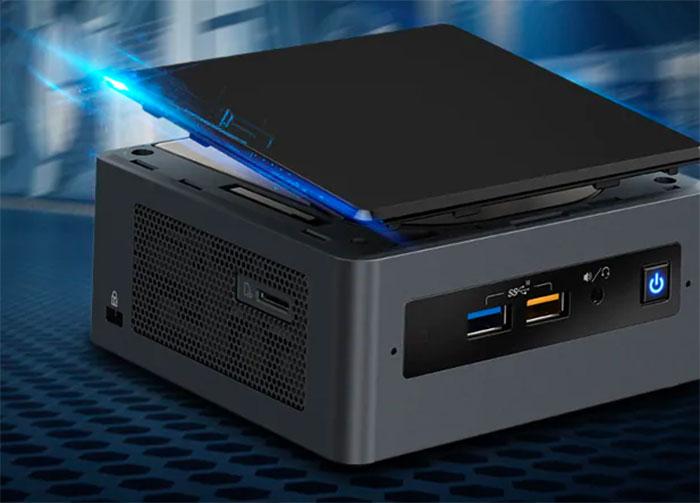 🔥 L'Intel NUC 8i3BEH à 418 €, un tout petit prix pour un ordinateur complet
