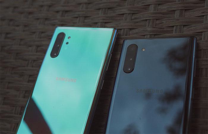 Le Galaxy Note 10 à 721 €, le Galaxy Note 10+ à partir de 849 €
