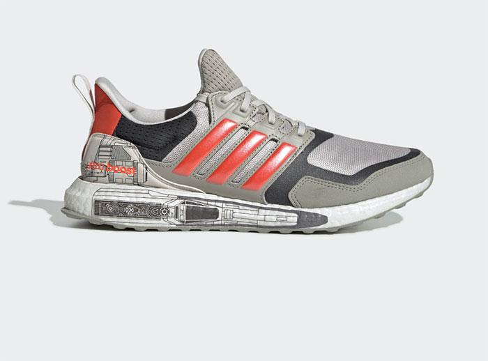 Adidas vient de présenter une paire de baskets aux couleurs du X-Wing
