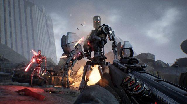 Resistance arrive sur PC et consoles — Terminator
