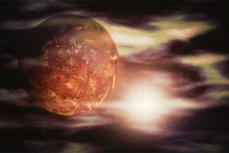 Venus, souvent considérée comme la jumelle de la Terre