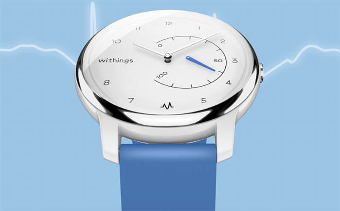 Withings Move ECG : enfin une montre ECG chez Withings !