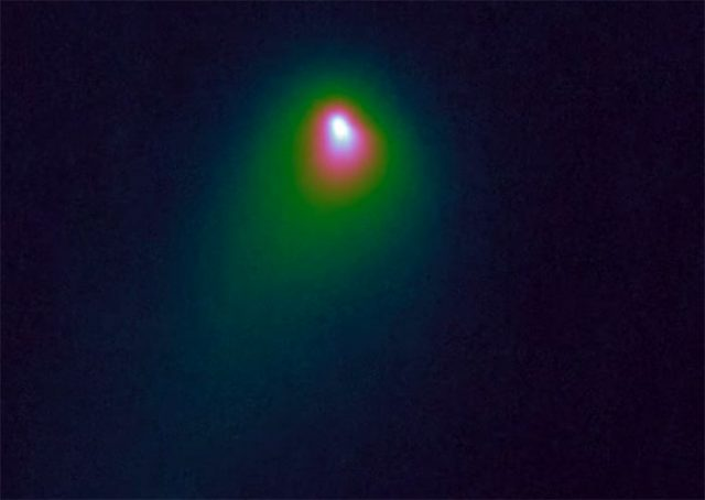 2I/Borisov vu par Hubble
