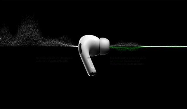 Les AirPods Pro proposent un double système de réduction de bruit