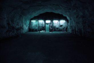 Un bunker plongé dans les ténèbres