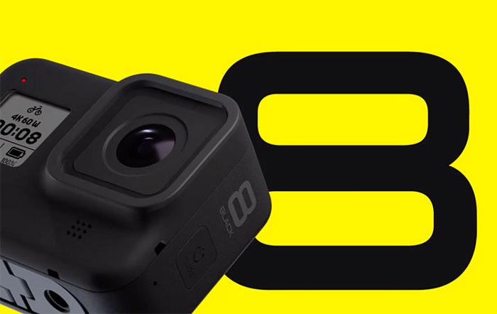 GoPro a officialisé la HERO8 Black, et la GoPro Max