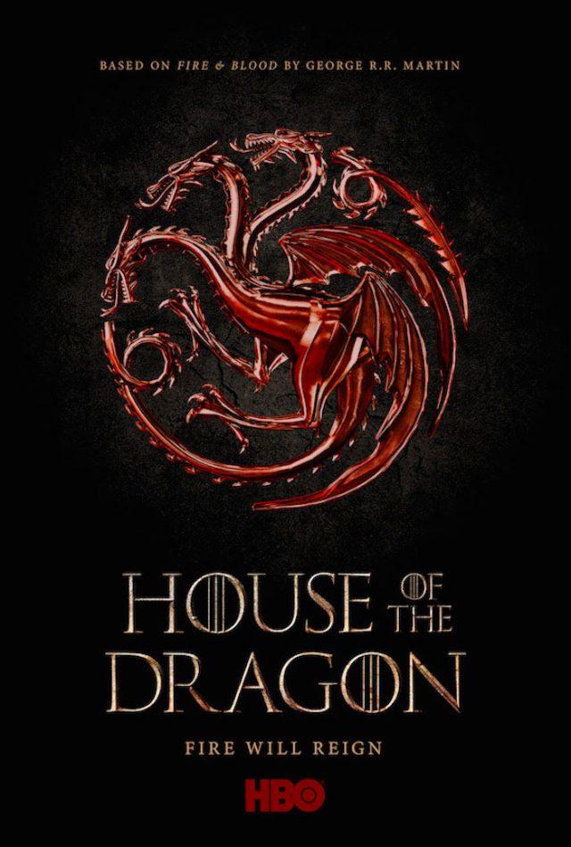 L'affiche de House of the Dragon