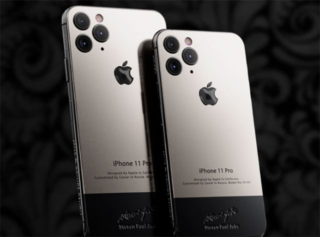 L'iPhone 11 Pro se décline en version Caviar