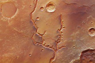Mars vu par les sondes