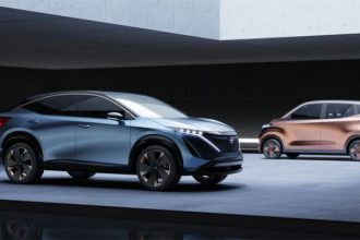 Le Nissan Ariya, le nouveau concept car de Nissan