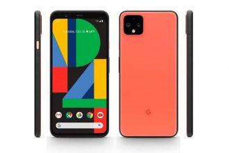 Le Pixel 4 en version orange.